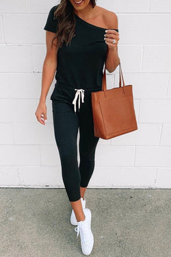 Motachic One Shoulder Jumpsuit