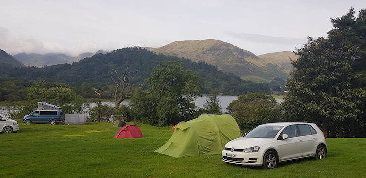 Car camping in the Lake DIstrict