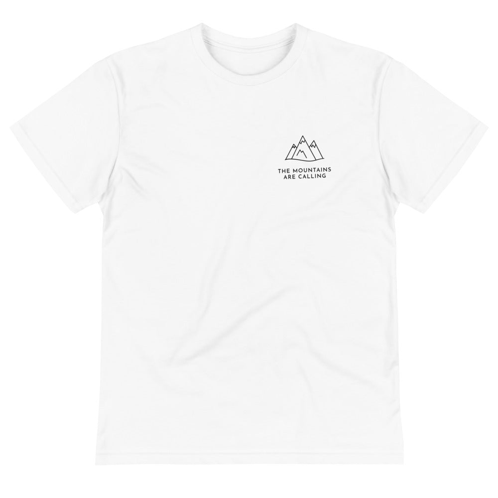 Eco Unisex T-Shirt | The Mountains Are Calling