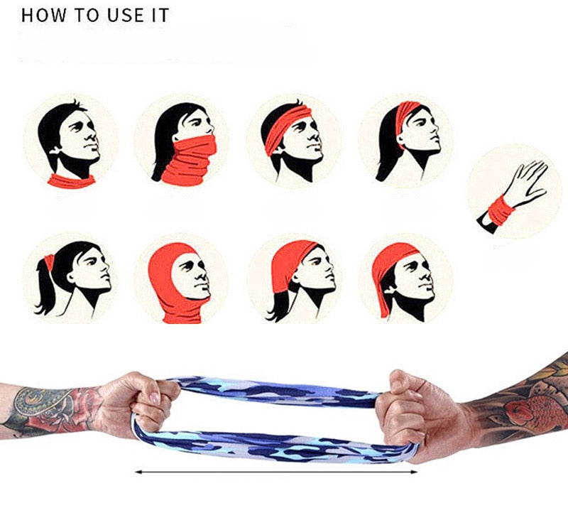 Magic Scarf Multifunctional Headwear