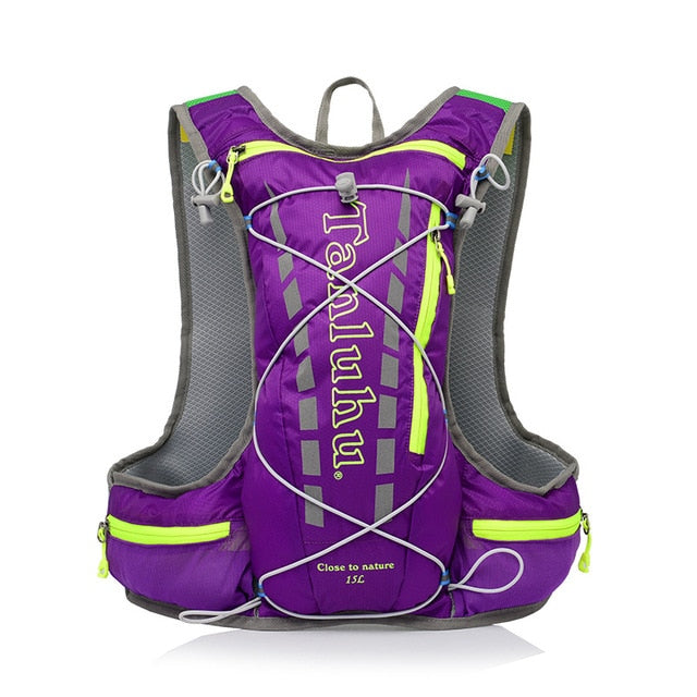 Purple 15 litre sports pack