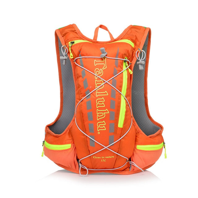 Orange 15 litre sports pack