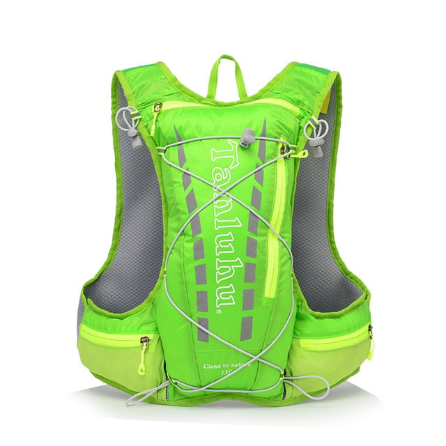 Green 15 litre sports pack