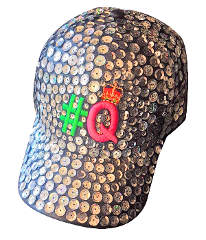 Hashtag Queens Sequined Cap
