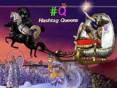Hashtag Queens Poster