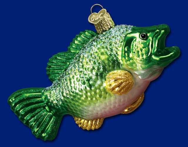 Largemouth Bass Ornament - Old World Christmas