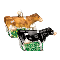 Dairy Cow Ornament - Old World Christmas