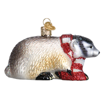Badger Ornament - Old World Christmas
