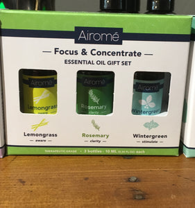 Essential Oil-Focus and Concentrate Combo