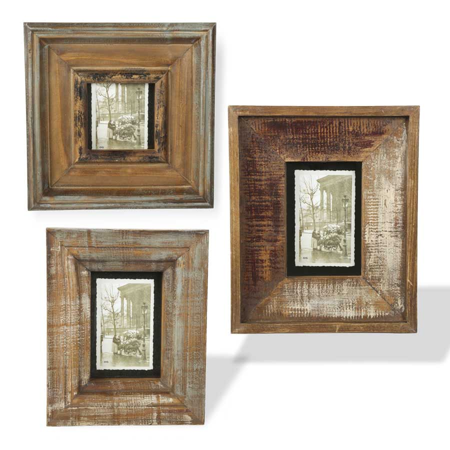 Brown square rustic wood picture frames 3 sizes red barn brown square rustic wood picture frames 3 sizes jeuxipadfo Gallery