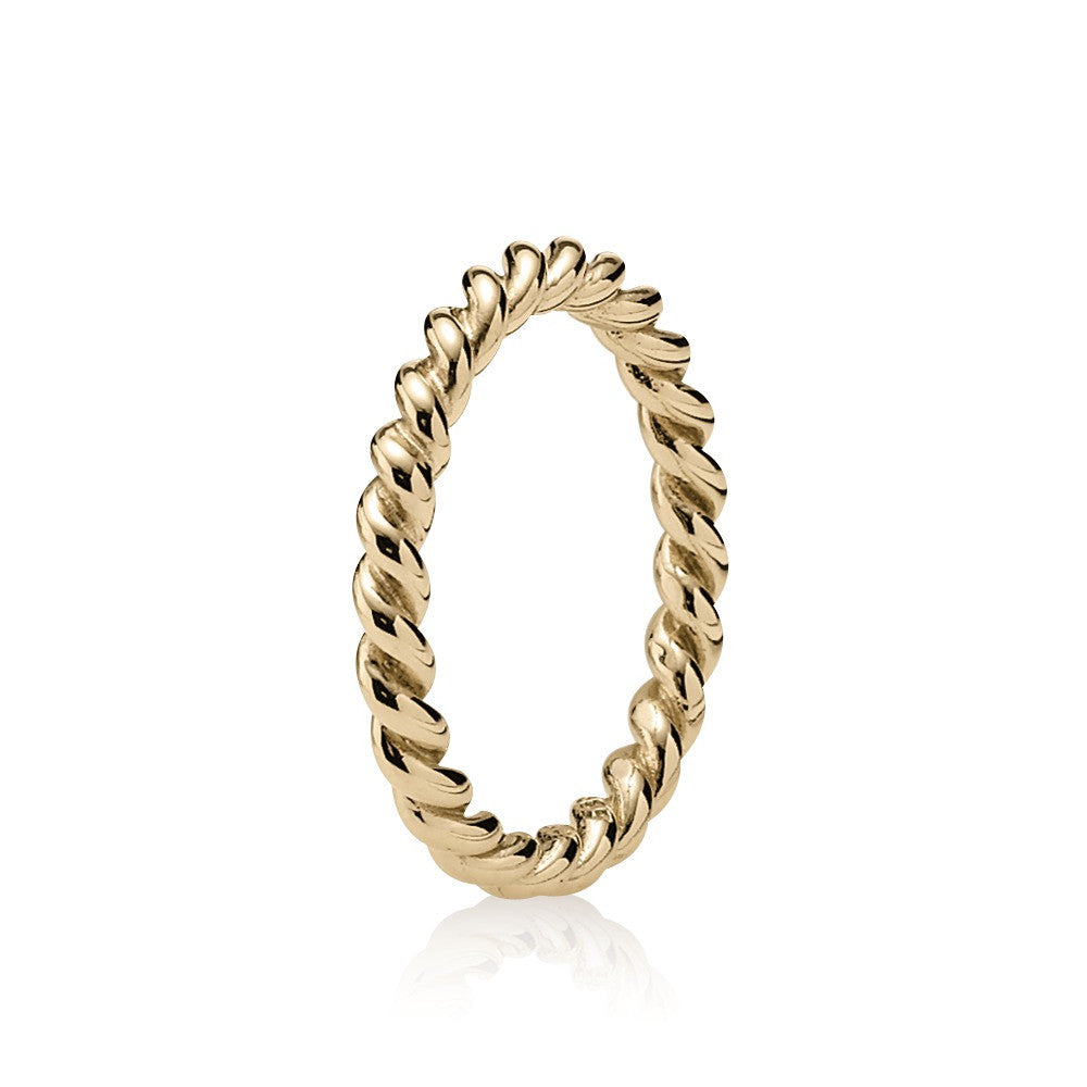 Intertwined Ring 14k Gold Pandora 150140 Red Barn