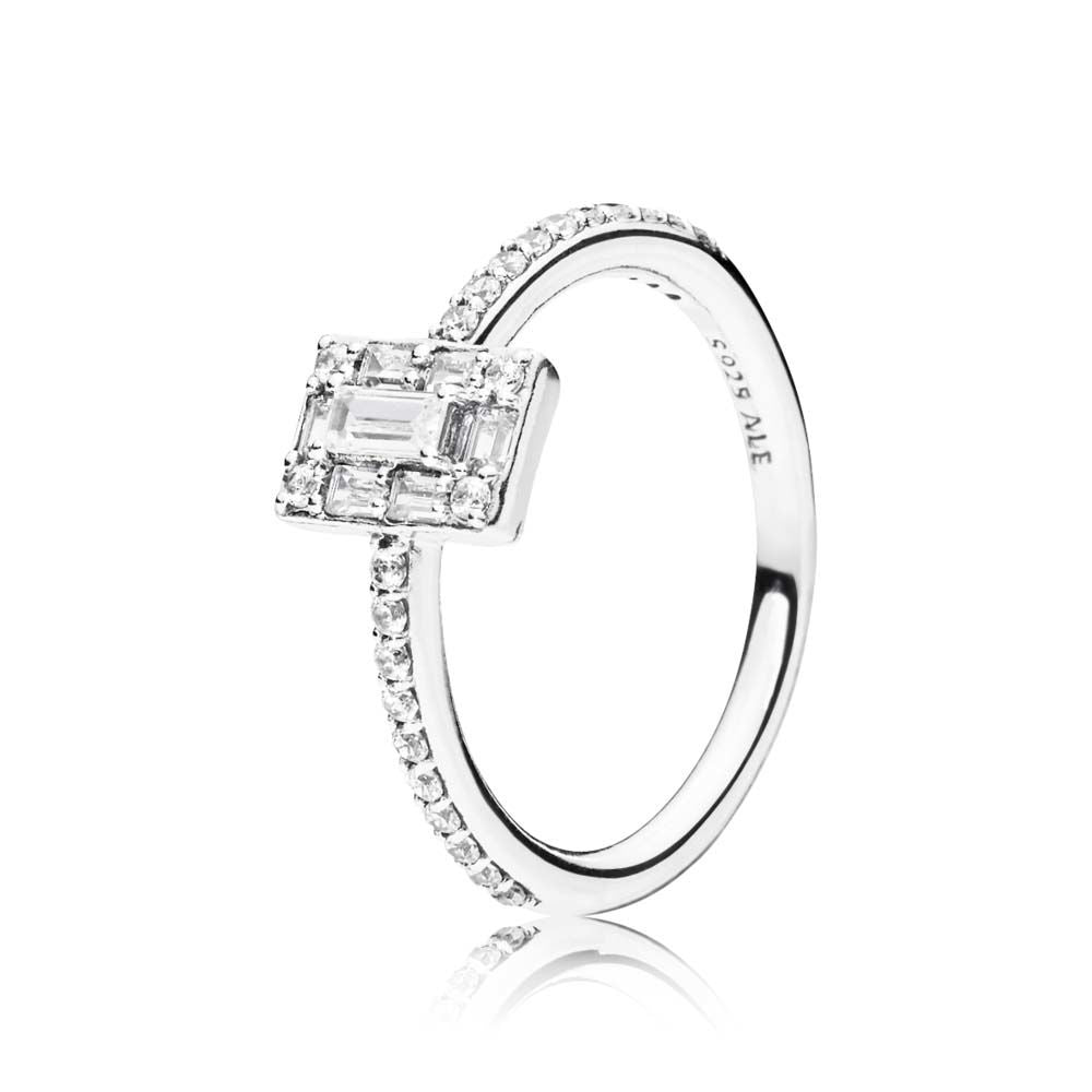 Luminous Ice Ring - Clear CZ - PANDORA - 197541CZ