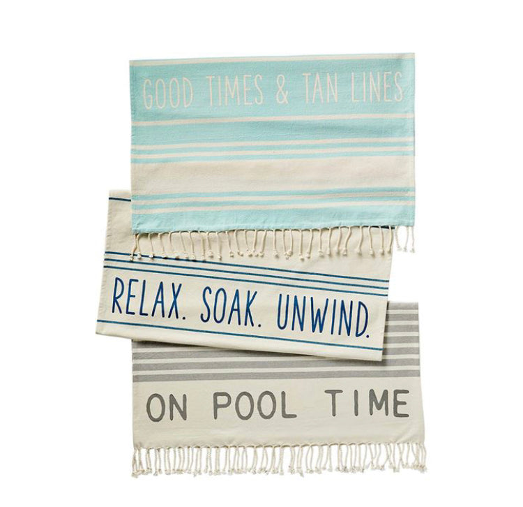 Turkish Beach Towel-(3 Styles Sold Separately)