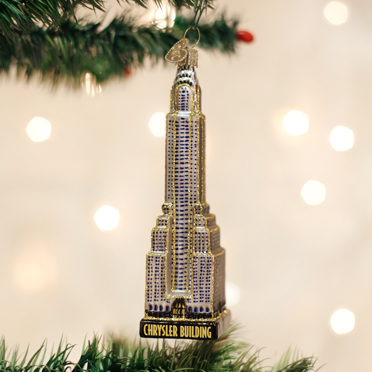 Chrysler Building Ornament - Old World Christmas