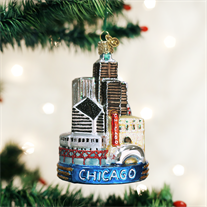 Chicago Ornament - Old World Christmas