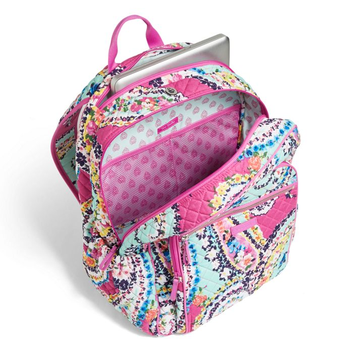 fd1262da73bc Vera Bradley - Iconic Campus Backpack - Wildflower Paisley