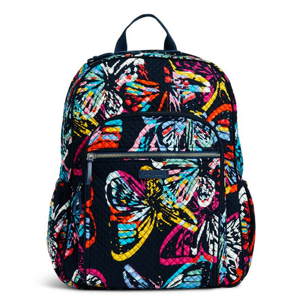 Vera Bradley - Iconic Campus Backpack - Butterfly Flutter 1fb70450d9043