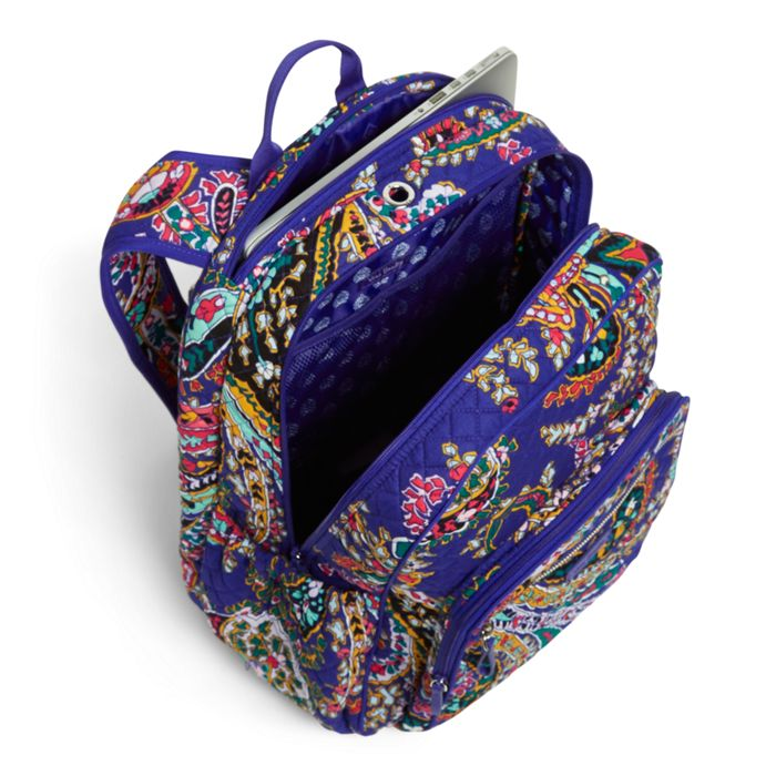 341b3c5ffbbe Vera Bradley - Iconic Campus Backpack - Romantic Paisley