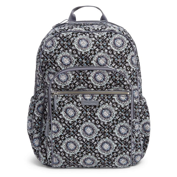 2f694e186194 Vera Bradley - Iconic Campus Backpack - Charcoal Medallion
