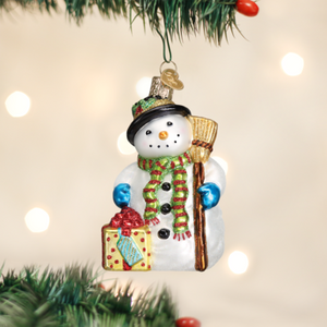 Gleeful Snowman - Old World Christmas