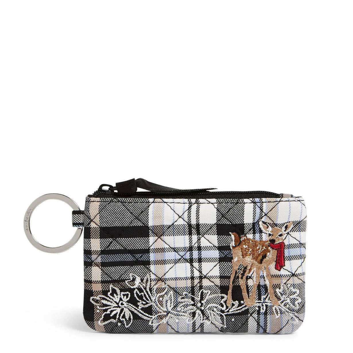 Zip ID Case-Cozy Plaid Neutral-Vera Bradley