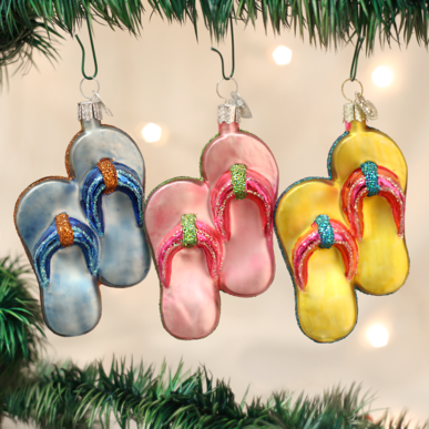 flip-Flops - Old World Christmas (Sold Separately)