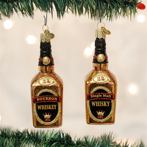 Whiskey Bottle Ornament - Old World Christmas - 1/each assorted