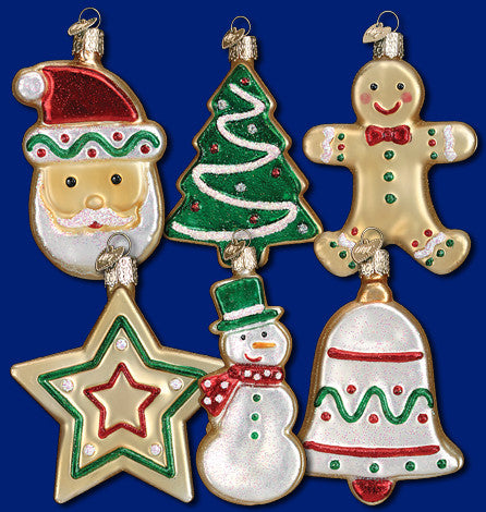 Sugar Cookie Ornament - 1 of 6 Assorted Styles - Old World Christmas