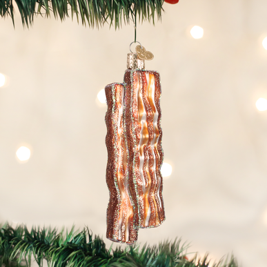 Bacon Strips Ornament - Old World Christmas