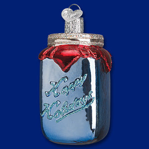 Canning Jar Ornament - Old World Christmas