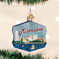 Milwaukee Ornament - Old World Christmas