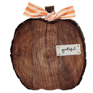 Wood Pumpkin Sitters 3 sizes