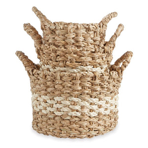DUAL TONED SEAGRASS BASKET