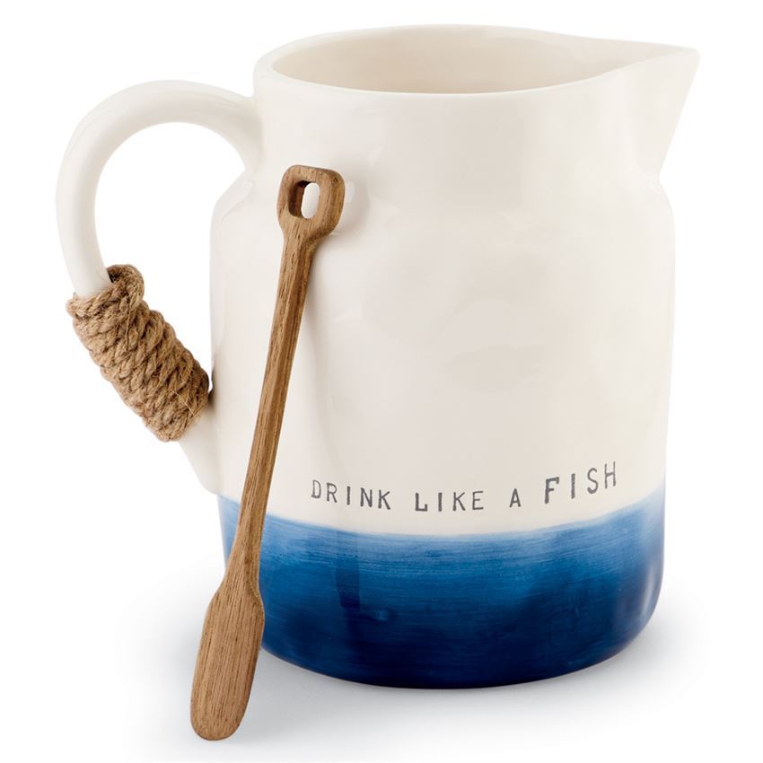 DRINK LIKE A FISH PITCHER SET