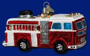 Fire Truck Ornament - Old World Christmas