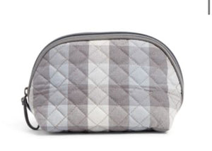 Iconic Clamshell Cosmetic-Neutral Buffalo Check-Vera Bradley