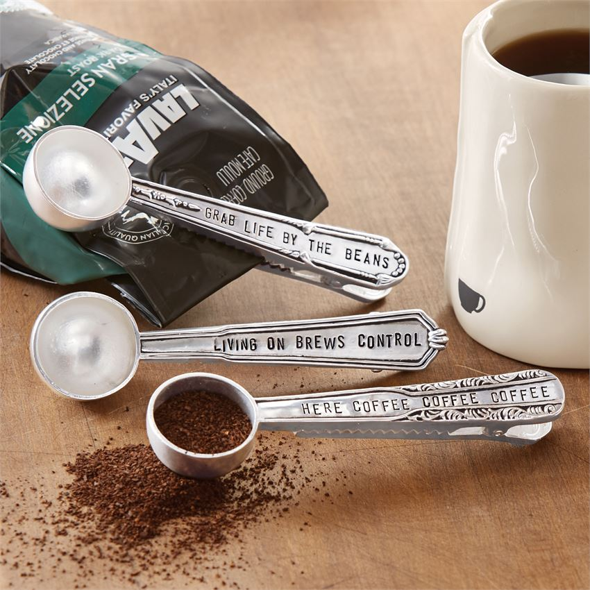 Coffee Scoop Bag Clip 3 Styles