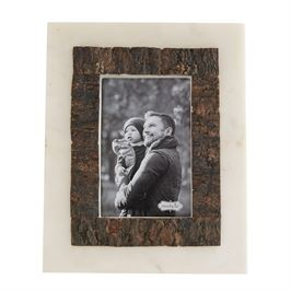 Marble Bark Picture Frames - 3 Sizes