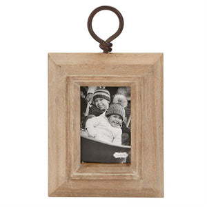 Wood Frame with Twisted Handle (2 Sizes Sold Separately)