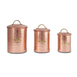 Copper Canisters (3 sizes)