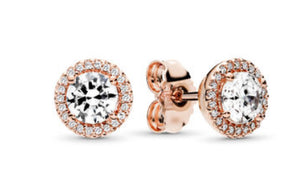 Classic Elegance Stud Earrings-Pandora Rose