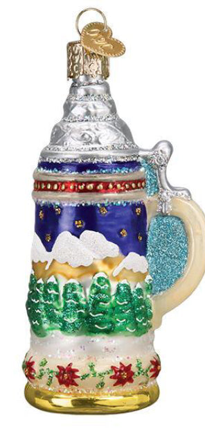 German Stein Ornament -Old World Christmas