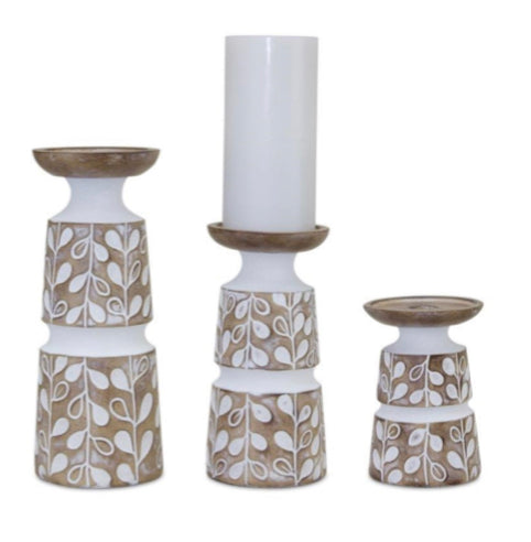 Candle sticks (Set of 3)