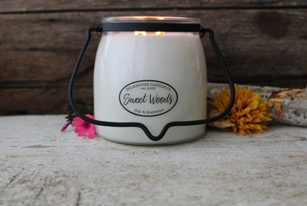 Sweet Woods-16oz-Butter Jar
