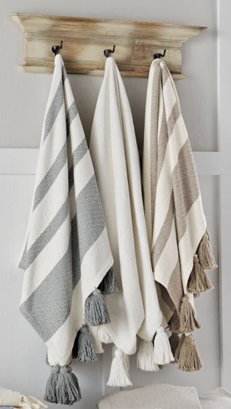 Woven Tassel Throw Blankets(3 Styles)
