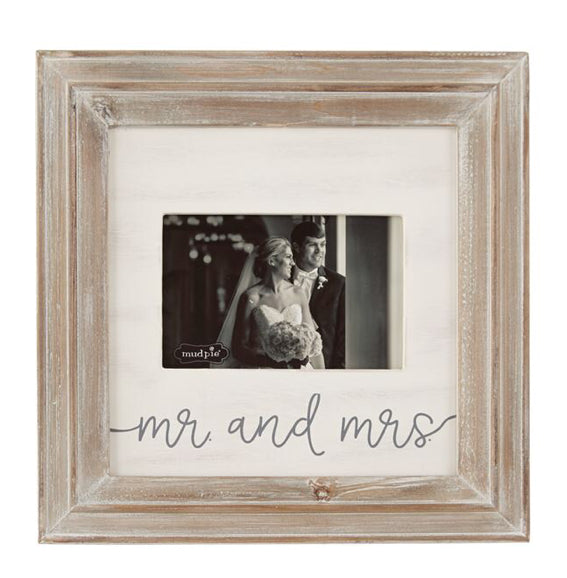 Mr and Mrs Small Wood Frame-4695425