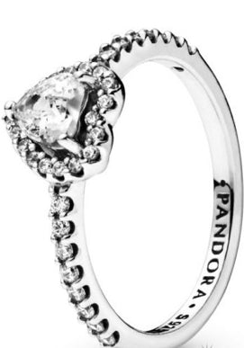 Elevated Heart-Ring-Pandora