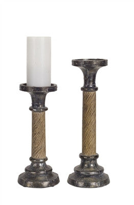 Brave Wooden Candlestick Holders Aesthetic Appearance Woodenware