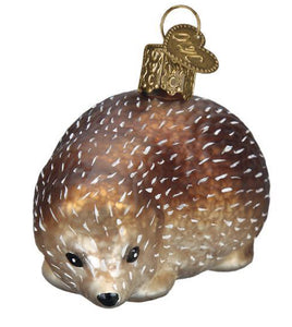 Vintage Hedgehog-Old World Ornament