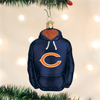 Chicago Bears Hoodie Ornament - Old World Christmas